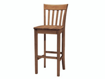Ridgewood Slat-Back Bar Stool