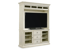 Summer Hill Entertainment Console with Hutch