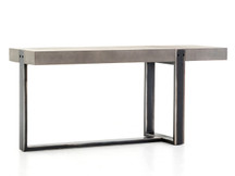 Fulton Concrete Asymmetrical Console Table