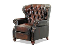 Michael Phillips Marquis Leather Recliner