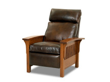 Michael Phillips Mission Leather Recliner