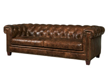 Malawi Tonga Leather Sofa