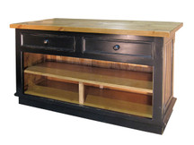 Claremont Kitchen Island - 2 Drawers