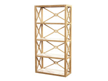 Fairview Lattice Bookshelf