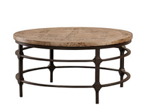 Fairview Round Parquet Coffee Table