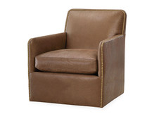 Greenfield Leather Swivel Chair