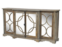 Gatehouse Mirrored Sideboard with Rings