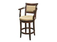Manchester Estate Swivel Bar Stool with Arms