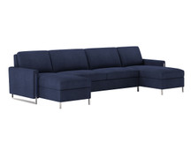 American Leather Sulley Sectional Sleeper
