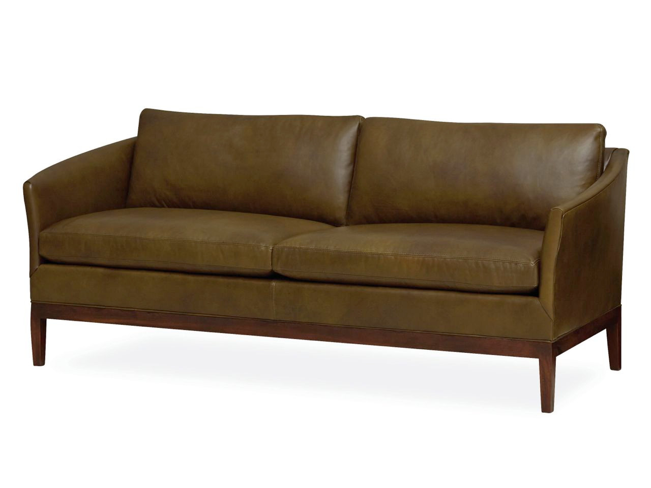 Hester Leather Apartment Sofa | Leather Apartment Sofas & Leather ...
