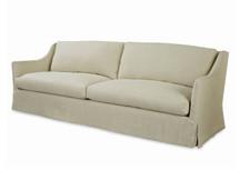 Landis Long Slipcovered Sofa