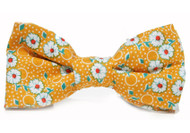 Yellow Daisy Bow Tie For Dogs