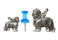 Old English Sheepdog Charm - Mini