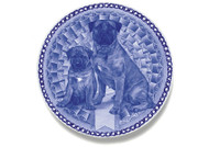 Bull Mastiff Puppy Danish Blue Plate