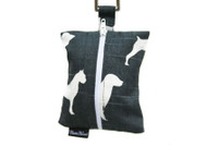 Dog Waste Bag Dispenser in Bow Wow Charcoal