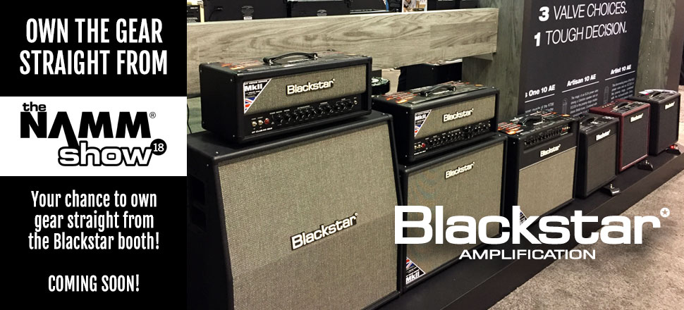 Blackstar Amps from NAMM