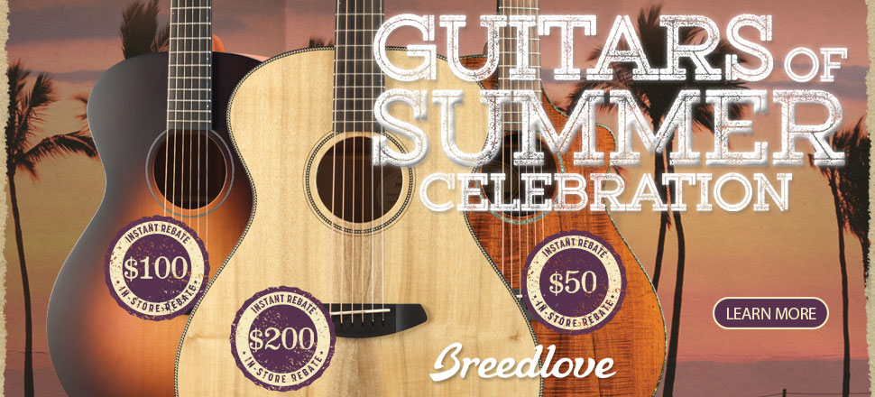 BREEDLOVE GUITAR DEALER
