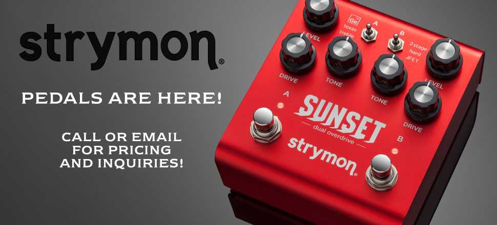 STRYMON GUITAR EFFECTS PEDALS