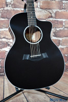Taylor 214ce Deluxe Black Acoustic Electric Guitar