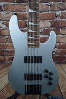 Jackson Dave Ellefson Signature CBXV 5-String X Series Electric Bass Guitar Quicksilver