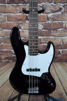 Squier Affinity Series Jazz Bass Guitar Black