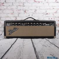 1965 Fender Bandmaster Tube Guitar Amp Head Blackface