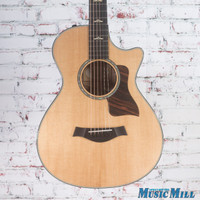 2016 Taylor 612ce Grand Concert Acoustic-Electric Guitar Natural