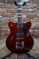 Gretsch G2655T Streamliner Center Block Junior Electric Guitar Walnut Satin