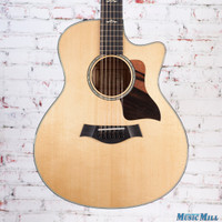 Taylor 656ce Grand Symphony 12 String Acoustic Electric Guitar Natural