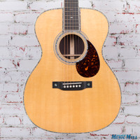 Martin OM-42 Orchestra Acoustic Guitar Natural