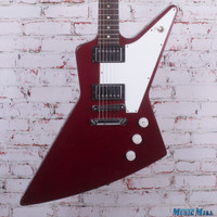 2006 Gibson Explorer Electric Guitar Wine Red
