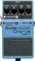 Boss CEB-3 Bass Chorus Effect Pedal