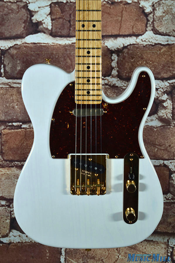 fender limited edition select light ash telecaster white blonde. Black Bedroom Furniture Sets. Home Design Ideas