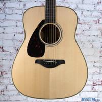 Yamaha FG820L Left Handed Acoustic Guitar Natural