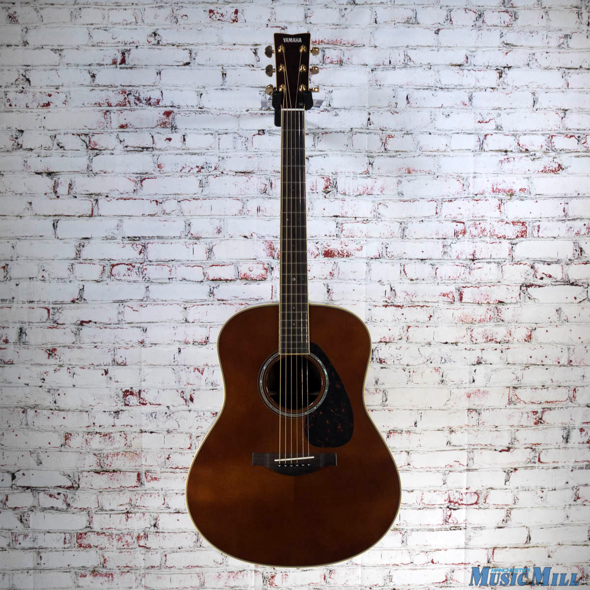 yamaha ll6 dark tinted dreadnought acoustic guitar. Black Bedroom Furniture Sets. Home Design Ideas