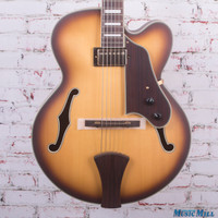 Ibanez Artcore Expressionist AFJ91 Hollow Body Amber Fade Flat