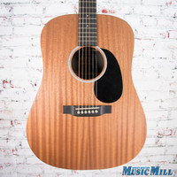 Martin DX2AE Macassar Dreadnought Acoustic Electric Guitar Natural