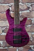 Spector Legend 5 Classic Electric Bass Trans Purple
