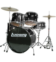 Ludwig LC1701 Accent Fuse 5 Piece Drum Kit + Cymbals
