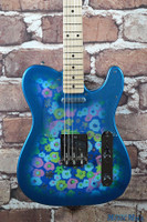 Fender Japan Classic '69 Blue Flower Paisley Floral Telecaster