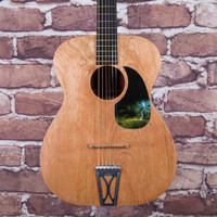 Vintage Stella Folk Acoustic Guitar Natural