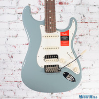 Fender American Professional Stratocaster HSS Shawbucker Electric Guitar Sonic Gray