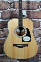 Ibanez AVT2E-NT Tenor Acoustic Guitar Mini Dreadnought Natural