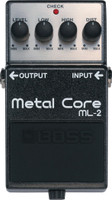 Boss ML‑2 Metal Core Distortion Pedal