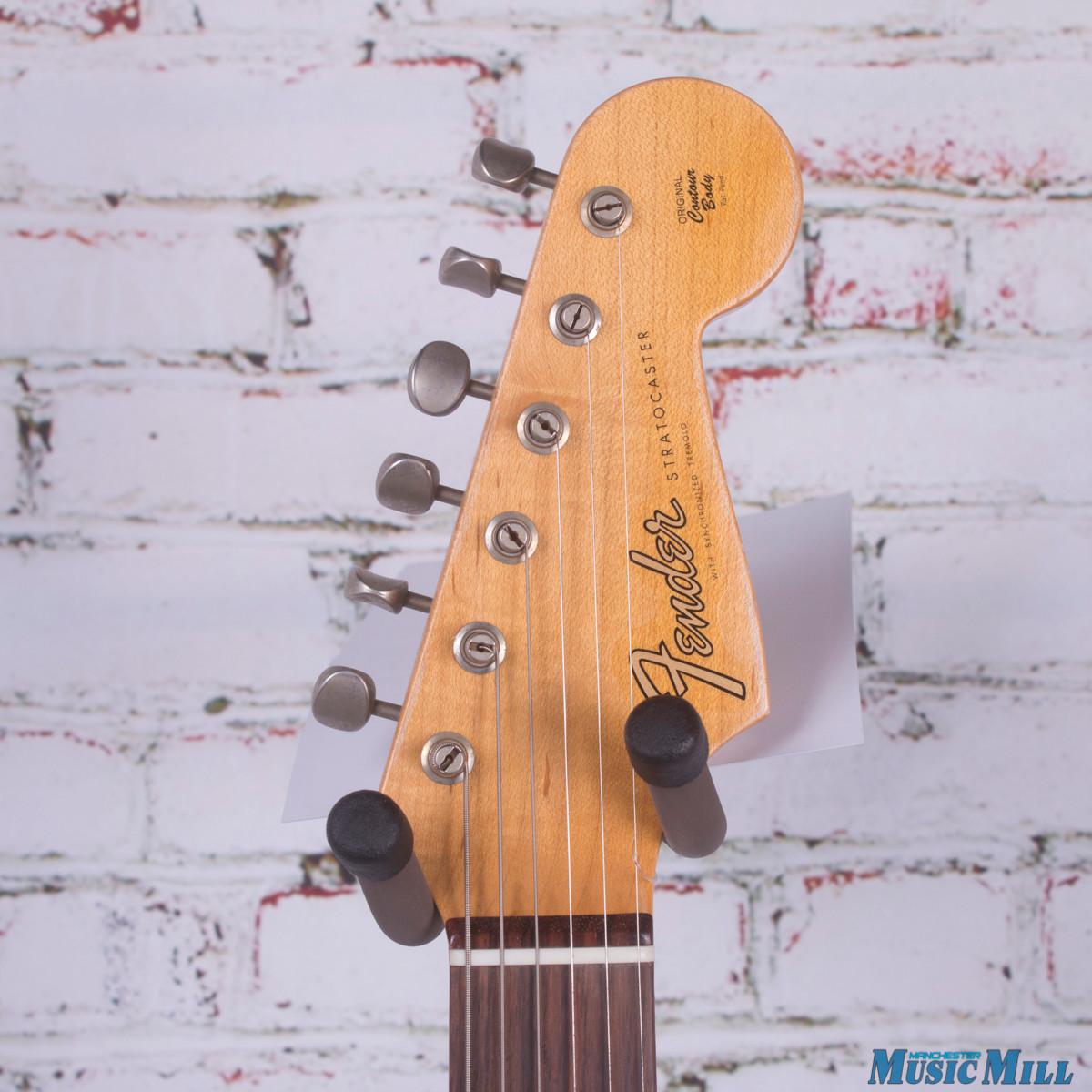 Fender Custom Shop Postmodern Stratocaster Journeyman Relic Daphne Blue