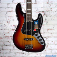 Fender American Elite Jazz Bass Guitar 3 Color Sunburst