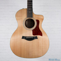2014 Taylor 214ce Deluxe Acoustic Electric Guitar Natural