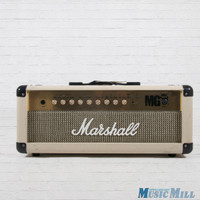 Marshall MG100HFX Guitar Amp Head White