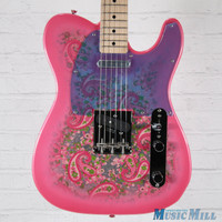 Fender Japan Classic '69 Pink Paisley Floral Telecaster 4286