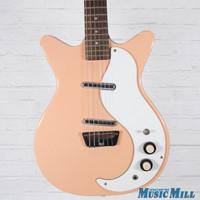 Danelectro 59 DC Reissue Electric Guitar Peach